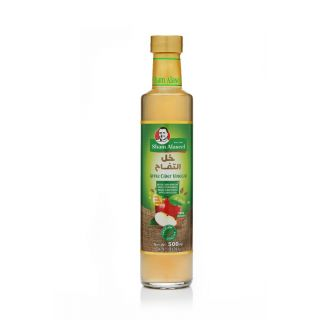 Sham Alaseel Apple cider vinegar 500g خل التفاح الطبيعي