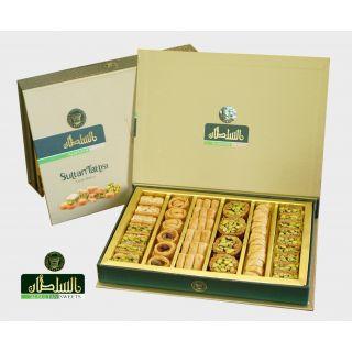 Al Sultan Sweets Mixed Baklava 400g- بقلاوة مشكل,  حلويات عربيه بالفستق