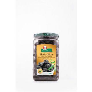 Sham Alassel Black Olives 500 gr زيتون عطوان من شام الأصيل